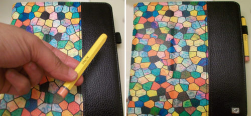 Finitie Tablet Cover for Kindle HDX Has a Convenient Stylus Holder