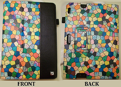 Finitie Tablet Cover for Kindle HDX - Stained Glass