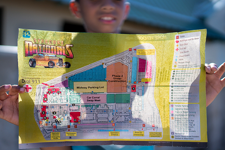 Syracuse Nationals Map