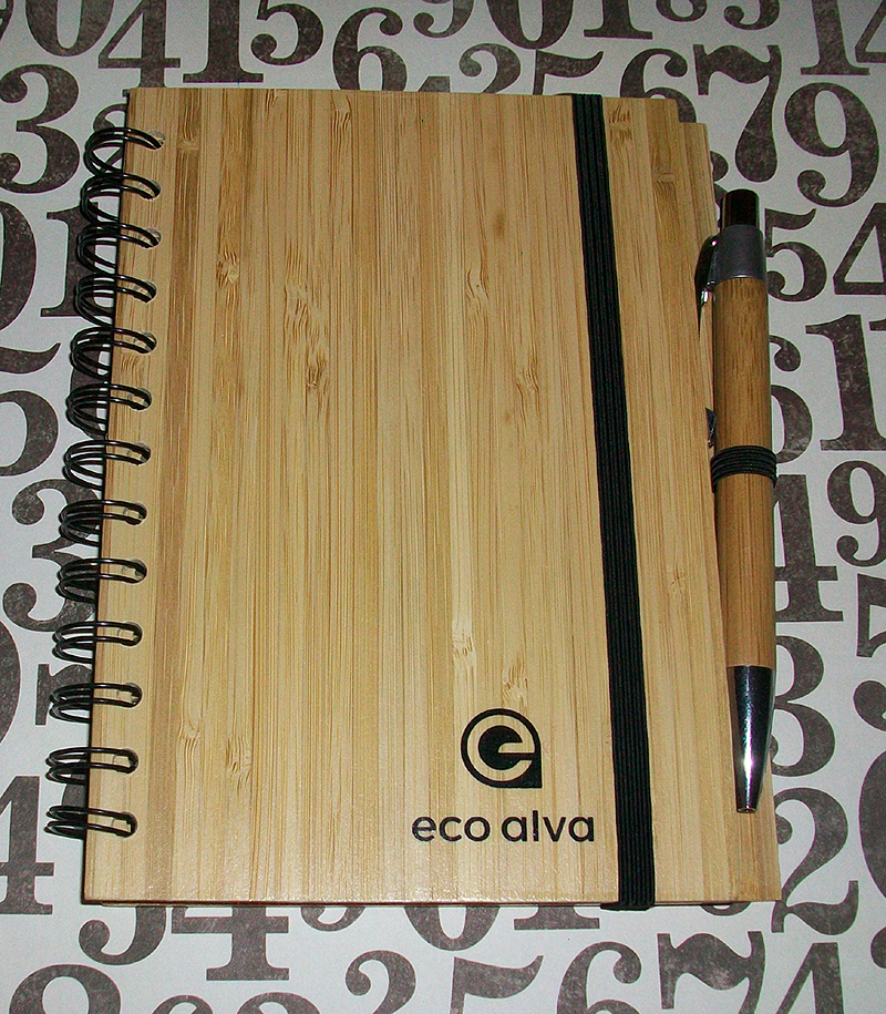 ecoalva Hardcover Bamboo Notebook