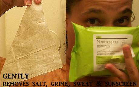 Neutrogena Naturals Purifying Makeup Remover Cleaning Towelettes is Gentle on the Skin
