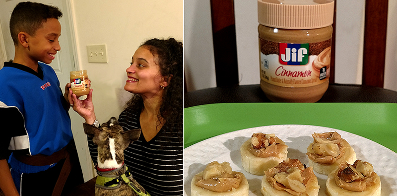 Ant and I Sniffing Jif Cinnamon copy