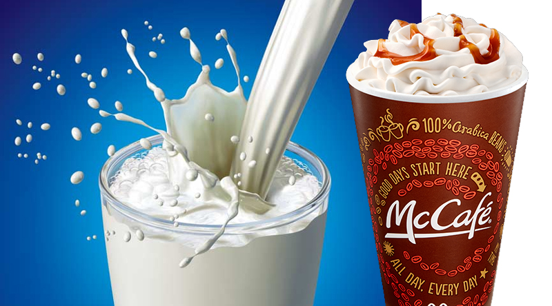 No More Skim Milk for McDonalds McCafe Drinks