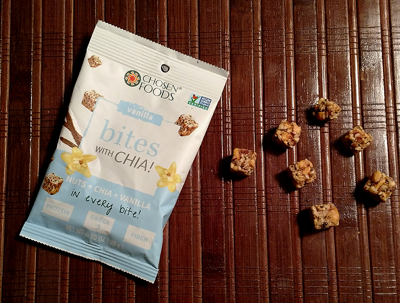 Chosen Foods Bites with Chia – Vanilla