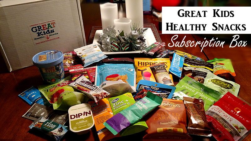 Great Kids Healthy Snacks #GlutenFree Subscription Box - December
