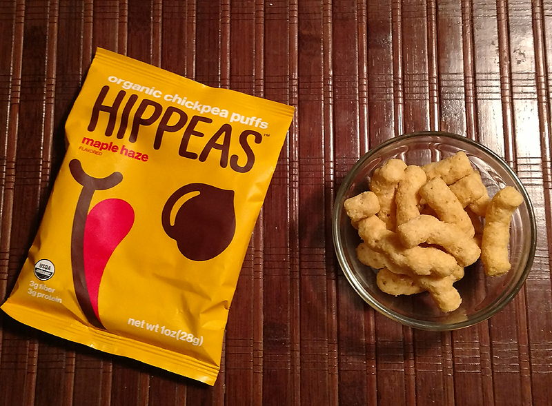 Hippeas Maple Haze Organic Chickpea Puffs