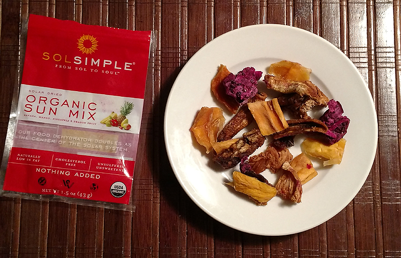 SolSimple Organic Sun Mix of Dried Fruit