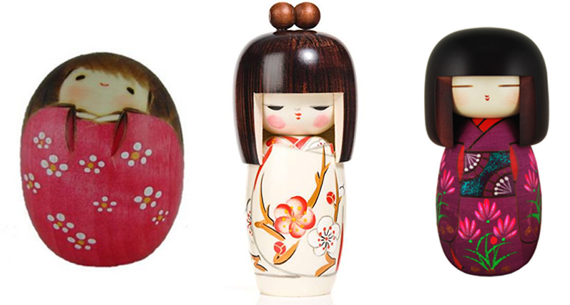 What are Kokeshi Dolls