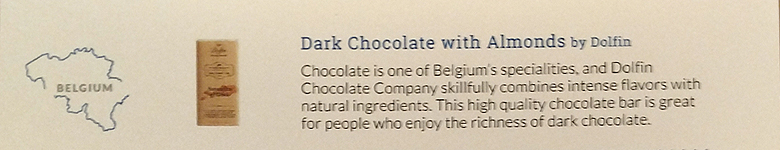 Try the World Pantry – Dark Chocolate with Almonds Description