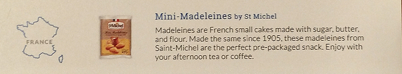 Try the World Pantry – Mini-Madeleines Description