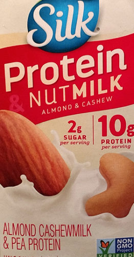 Silk Protein Nut Milk with Almonds, Cashews and Pea Protein