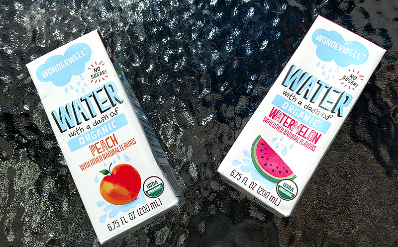 Wonderwell Organic Flavored Purified Water