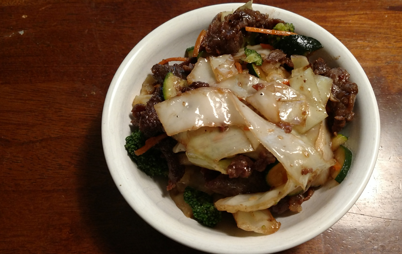 The Teriyaki Beef is the Best Thing at Teriyaki Madness
